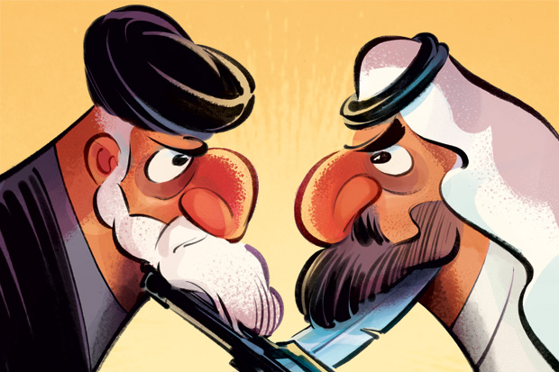 Iran, Saudi Arabia, and the Middle East's 30 year war