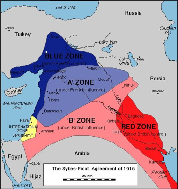 London Times: Πώς μια συμφωνία του 1916 εμποδίζει την ειρήνη στη Συρία