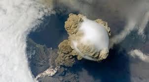 Βίντεο της ΝASA δείχνει έκρηξη ηφαιστείου από το Διάστημα