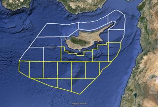 Αυτός είναι ο χάρτης της πραγματικής ΑΟΖ της Κυπριακής Δημοκρατίας