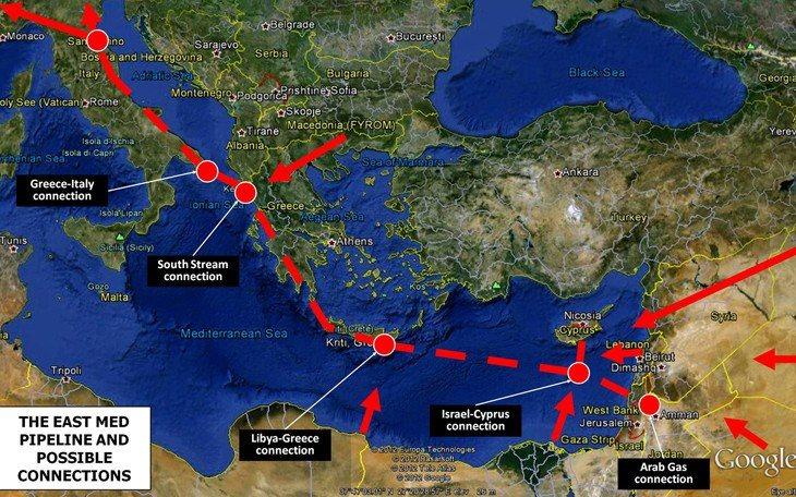 Προς ολοκλήρωση η συμφωνία για τον αγωγό East Med