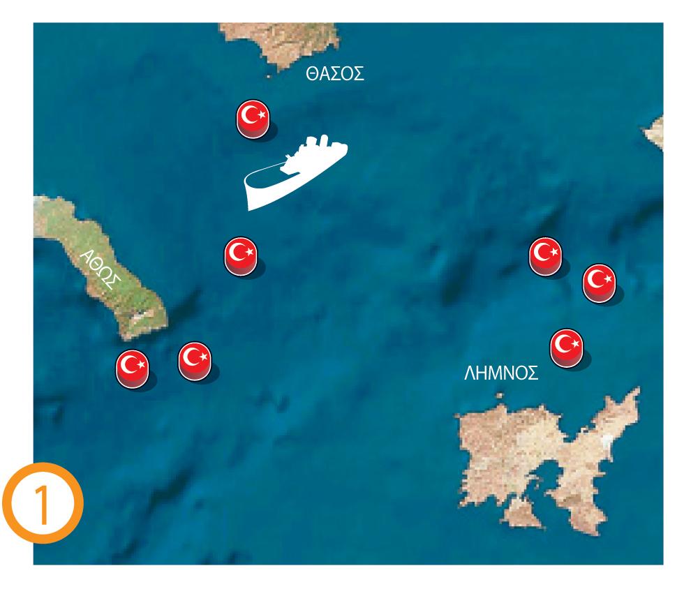 Αναβάθμιση της τουρκικής προκλητικότητας – Κάνουν πεδίο βολής το μισό Αιγαίο