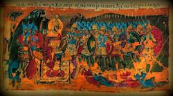 Ευάγγελος Κοροβίνης, H Βυζαντινή κατάρρευση τον Ενδέκατο αιώνα ως προανάκρουσμα για τις δύο αλώσεις (του 1204 και του 1453),http://wp.me/p3OlPy-1ny