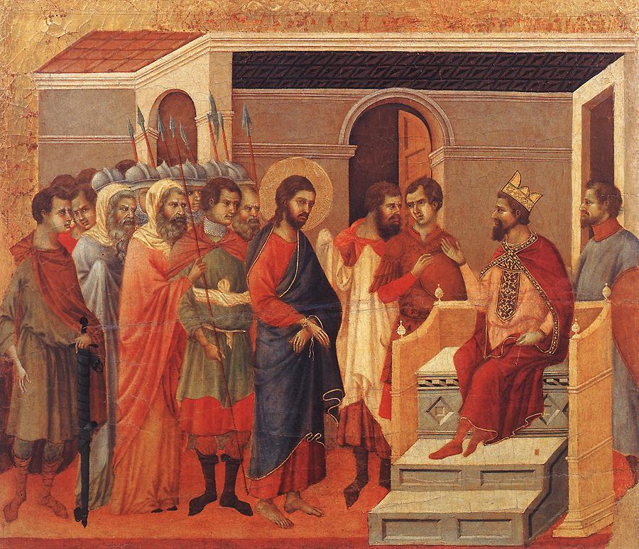 Χρίστος Κράππας, Η Δίκη του Χριστού