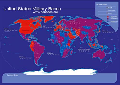 Jules Dufour, USA Military bases (Η πλανητική στρατιωτική παρουσία των ΗΠΑ)