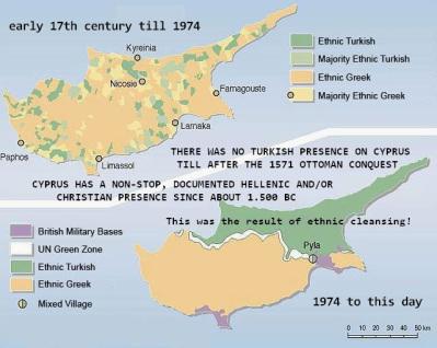 *Στέφανος Κωνσταντινίδης, Το νέο μόρφωμα μετά τη διάλυση της Κυπριακής Δημοκρατίας και θα είναι δομημένο στη βάση φυλετικών κριτηρίων