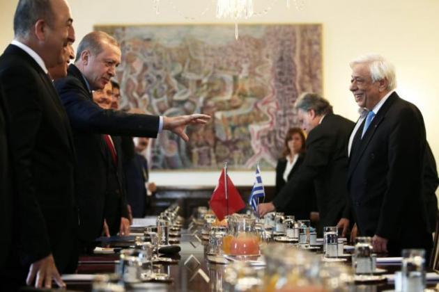 Παναγιώτης Ήφαιστος, H «μυστήρια» επίσκεψη Ερντογάν, η Εθνική στρατηγική και η «Α έως Ω» Τουρκική απειλή