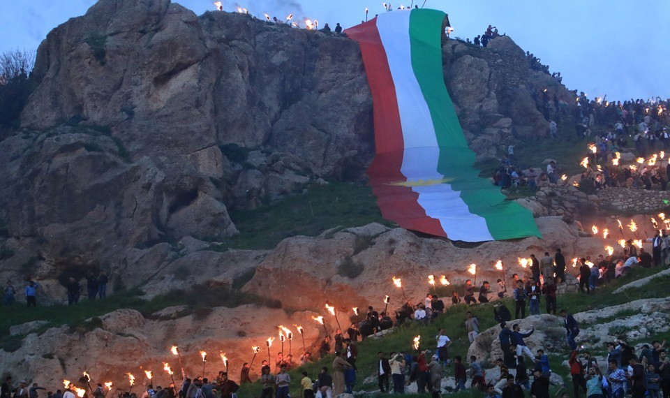 Krishnadev Dalamur, The Kurds Keep Remaking the Middle East