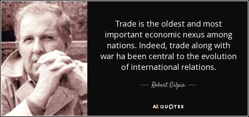 Η αποβίωση του Robert Gilpin και τα κλασικά του έργα διεθνούς πολιτικής και διεθνούς πολιτικής οικονομίας