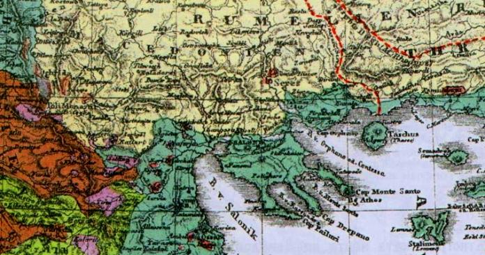 Ιωάννης Μάζης, Οι χάρτες που όρισαν τη «γεωγραφική Μακεδονία»