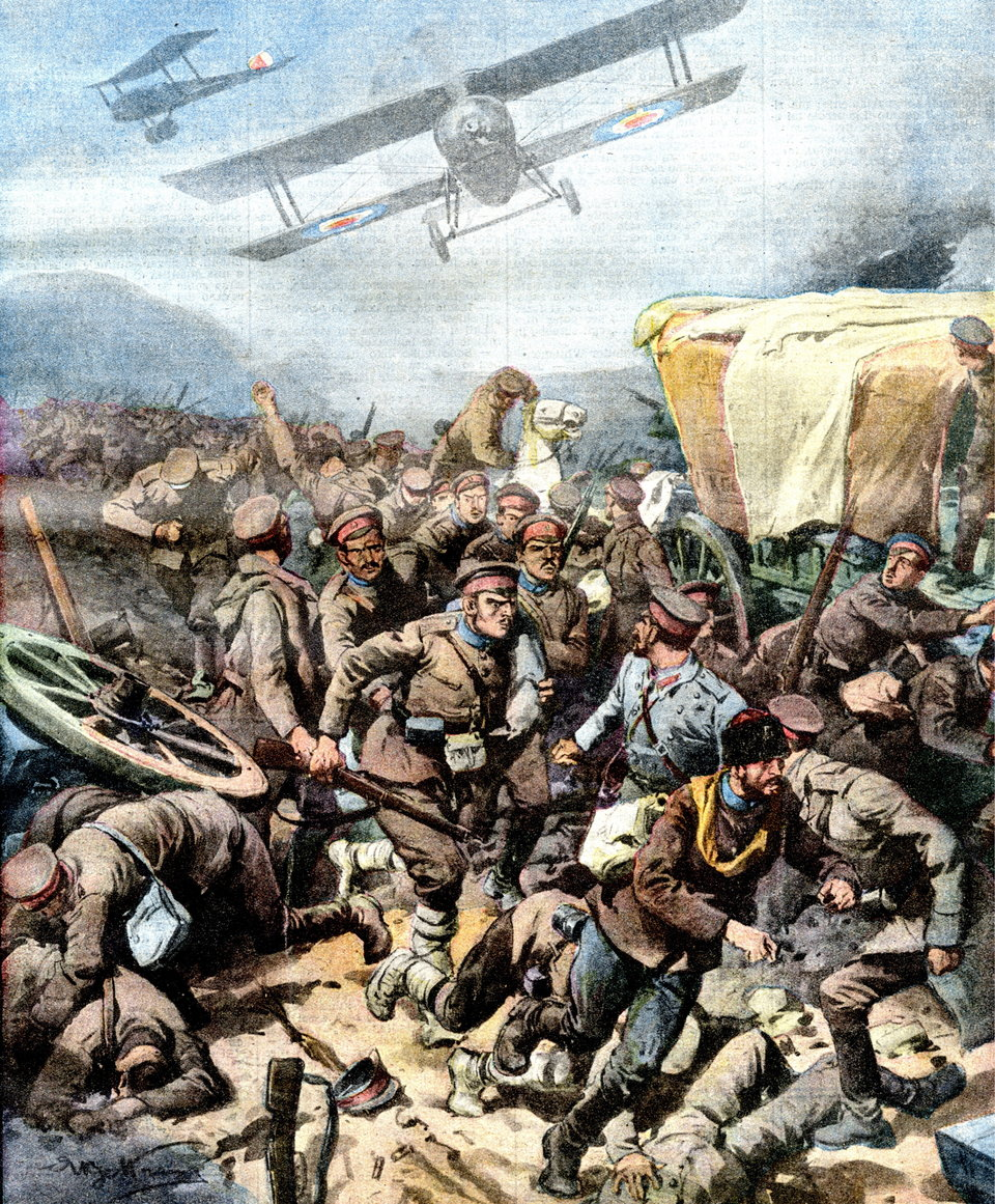 Αρετή Τούντα-Φεργάδη, Φθινόπωρο του 1918: η καταιγίδα των Ανακωχών
