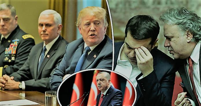 Π. Ήφαιστος, Το φλερτ Τραμπ-Ερντογάν και η αυτοπαγίδευση της Ελλάδας