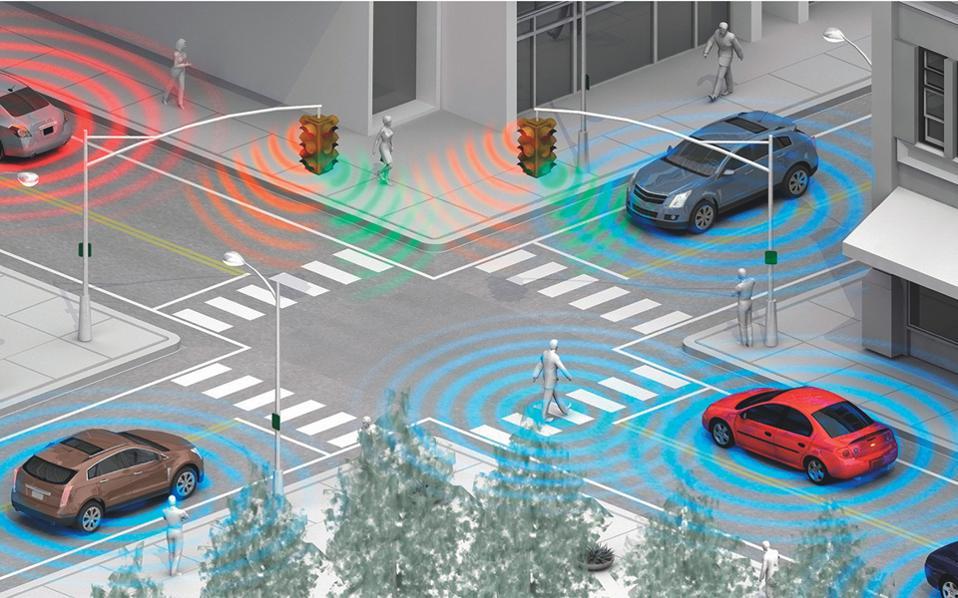 Ενα Ι.Χ. θα ανταλλάσσει συνεχώς πληροφορίες με τα υπόλοιπα οχήματα που υποστηρίζουν την τεχνολογία και βρίσκονται σε ακτίνα έως και 300 μέτρα