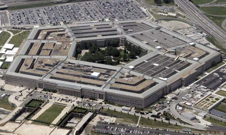 """The Pentagon is funding social science research to model risks of """"social contagions"""" that could damage US strategic interests. Photograph: Jason Reed/REUTERS"""