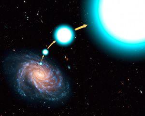 Τα άστρα βολίδες βγαίνουν με ταχύτητα από τους γαλαξίες τους