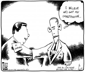 Tom Toles goes global: A collection of cartoons about international news.